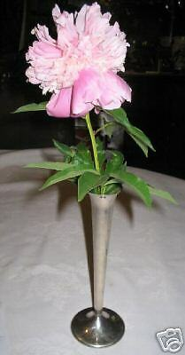 ANTIQUE REED & BARTON STERLING SILVERPLATE FLOWER GARDEN TABLE VASE PLANT SILVER
