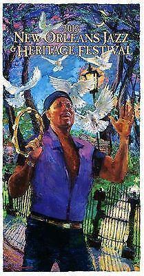 New Orleans Jazz Fest 2018 >> New Orleans Jazz Fest Poster | eBay
