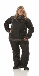 Diva SnowGear Snowmobile Pants with Bib 4X NWOT