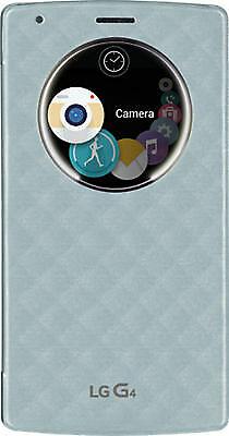 LG Quick Circle Snap-On Folio Case for LG G4 - Aqua Blue comprar usado  Enviando para Brazil