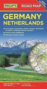 Road Map Of Germany 2017.Philip S Germany And Netherlands Road Map By Octopus Publishing Group Paperback 2017