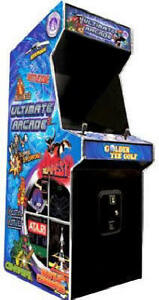Ultimate Arcade 2 with HyperSpin / Mame 3600+ games - 90 Day Wty