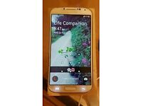 Samsung Galaxy S4 GT-I9505 White Frost (16GB) Unlocked Mobile Phone. Full Working SimFree