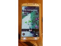 Samsung Galaxy S4 GT-I9505 White Frost (16GB) Unlocked Mobile Phone. Full Working