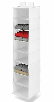 Hanging Closet Organizer Has Slots For Each Day Of The Week