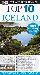 DK Eyewitness Top 10 Travel Guide: Iceland-ExLibrary