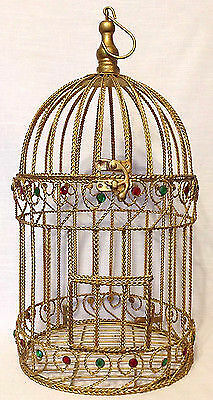 8. Vintage-Vogelkäfig