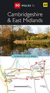 Cambridgeshire and East Midlands (AA 50 Walks Series), AA Publishing, New Book