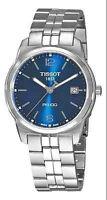 NWT Men's Tissot T-Classic PR 100 Blue Dial St. Steel Watch