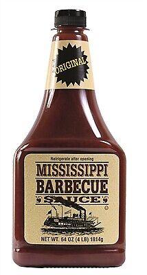 (3,85€/1kg)  Mississippi Barbecue Sauce Original 1814g BBQ Sauce