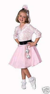 50s GIRL poodle dress girls halloween costume Toddler 2 - 50's Girl Halloween Costume Toddler
