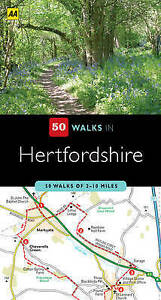 Hertfordshire (AA 50 Walks Series), By AA Publishing,in Used but Good condition