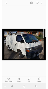 Toyota Hiace. Auto. Dual Fuel. RWC all work done.(New reco head.b Carlton Melbourne City Preview
