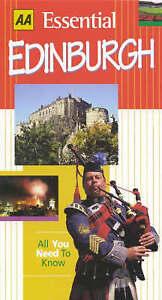 Essential Edinburgh (AA Essential),GOOD Book