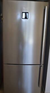 electrolux stainless steel 430 litre fridge