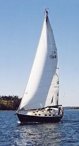 Hughes 38' well used but fully functional.