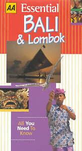 Osborne, Christine Essential Bali and Lombok (AA Essential) Very Good Book