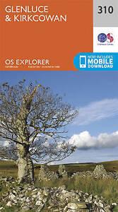 Ordnance Survey-Glenluce And Kirkcowan  AC NEW