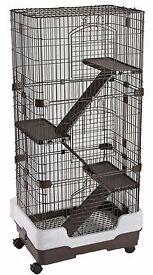 Ferret Chinchilla Rat Three Storey Indoor Mammal Cage F13 Style Cage .USED !