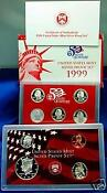 1999 US Silver Proof Set