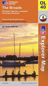 The-Broads-by-Ordnance-Survey-Sheet-map-folded-2005