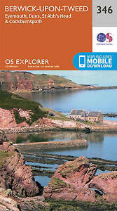 Ordnance Survey-Berwick-Upon-Tweed  AC NEW