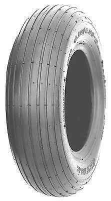 Wheelbarrow Tire, Rib Tread, 4.80/4.00-8 In. Wheelbarrow Rib Tire