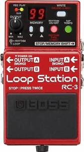 BOSS RC-3 Loop Station Pedal (NEW IN THE BOX)
