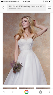 Ellis London Bridal Wedding Dress Skirt