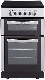 Belling FSEC50DOW 50cm Double Oven Electric Cooker With Ceramic Hob - White BOXED