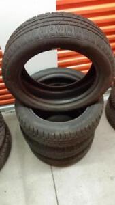 (H14) Pneus Hiver - Winter Tires 205-55-17 Pirelli RunFlat