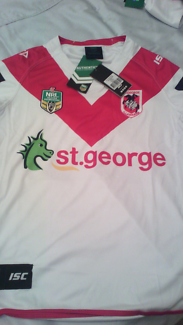 2017 St George Illawarra Dragons Home jerseys brand new with tags
