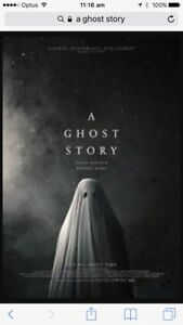 Movie Cinema Double Pass to A Ghost Story Hillarys Joondalup Area Preview