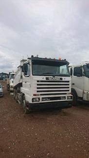Scania 143 tipper v8 500hp