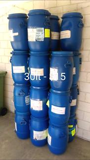30lt food grade plastic drums