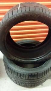 (106) 2 Pneus Hiver - 2 Winter Tires 315-35-20 Pirelli RunFlat