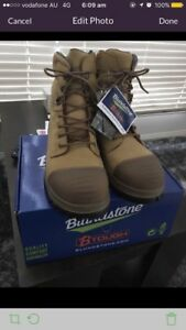 BLUNDSTONE 992 LACE UP/ZIP WORK BOOTS BRAND NEW WITH TAGS AUS/UK 10.5 Bundoora Banyule Area Preview