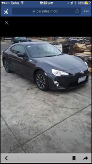 2014 Toyota 86 GT manual