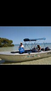Aluminium 'Tinnie' Boat ~ 5.75m ~ Center Console Victoria Point Redland Area Preview