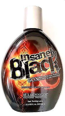 Insanely Black Hot Tingle Lotion with Bronzer For Indoor Tan