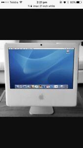 Apple iMac 21 inch white Sydney City Inner Sydney Preview
