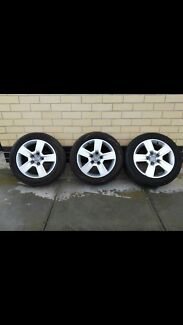 Audi A5 (2005) Rims with Tyres
