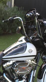 Wild 1 chubby 14inch bars Harley Davidson