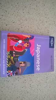Lonely planet Japanese phrase book 1st edition