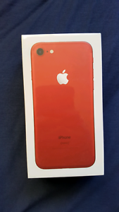 IPhone 7 128GB RED STILL in box invoice and warranty Wiley Park Canterbury Area Preview