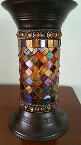 PARTYLITE GLOBAL FUSION PILLAR HOLDERS West Island Greater Montréal image 2