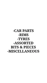 Car bits and pieces *read list before messaging me*