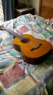 1970 Yamaha G - 240 Guitar Very good condition - solid spruce top