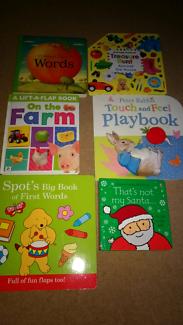 6 x children's hardcover books