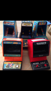 Nintendo and coleco tabletop arcade machines Rushcutters Bay Inner Sydney Preview